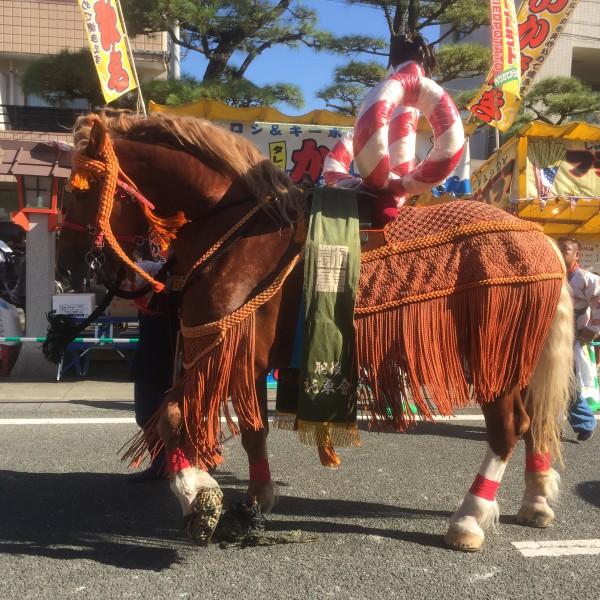 肥後託東会飾り馬