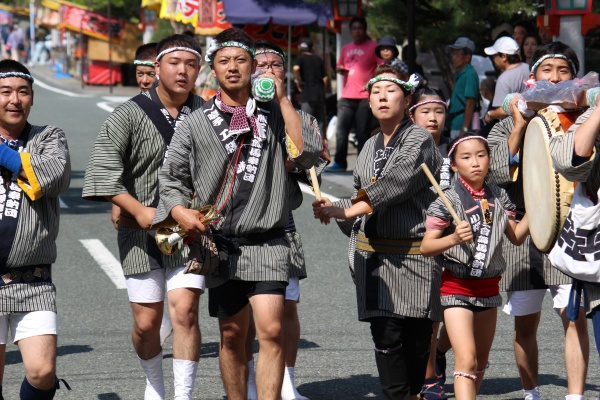 2016年奉納順9番熊工會飾馬奉納団