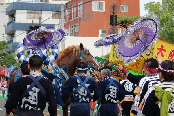 2016年ボシタ祭り真和誠真会本祭写真画像