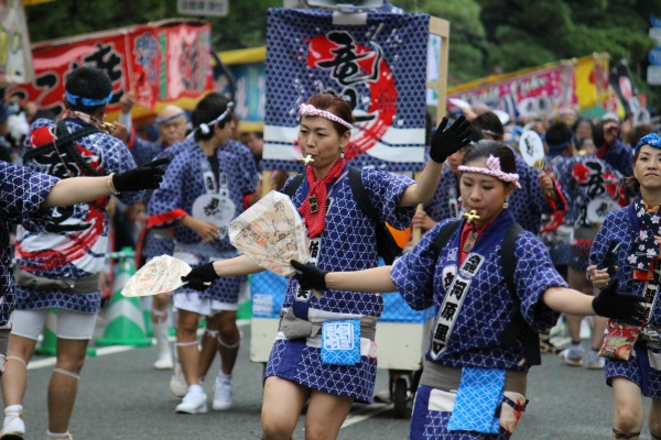 2016年ボシタ祭り第二高校竜胆会本祭写真画像