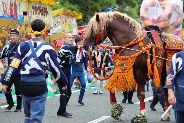 2016年ボシタ祭り済々黌飾馬奉納団絆本祭写真画像