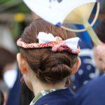 ボシタ祭り髪型シンプル系