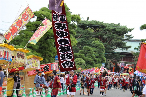 2016年ボシタ祭り健軍みゆき友好会本祭写真画像
