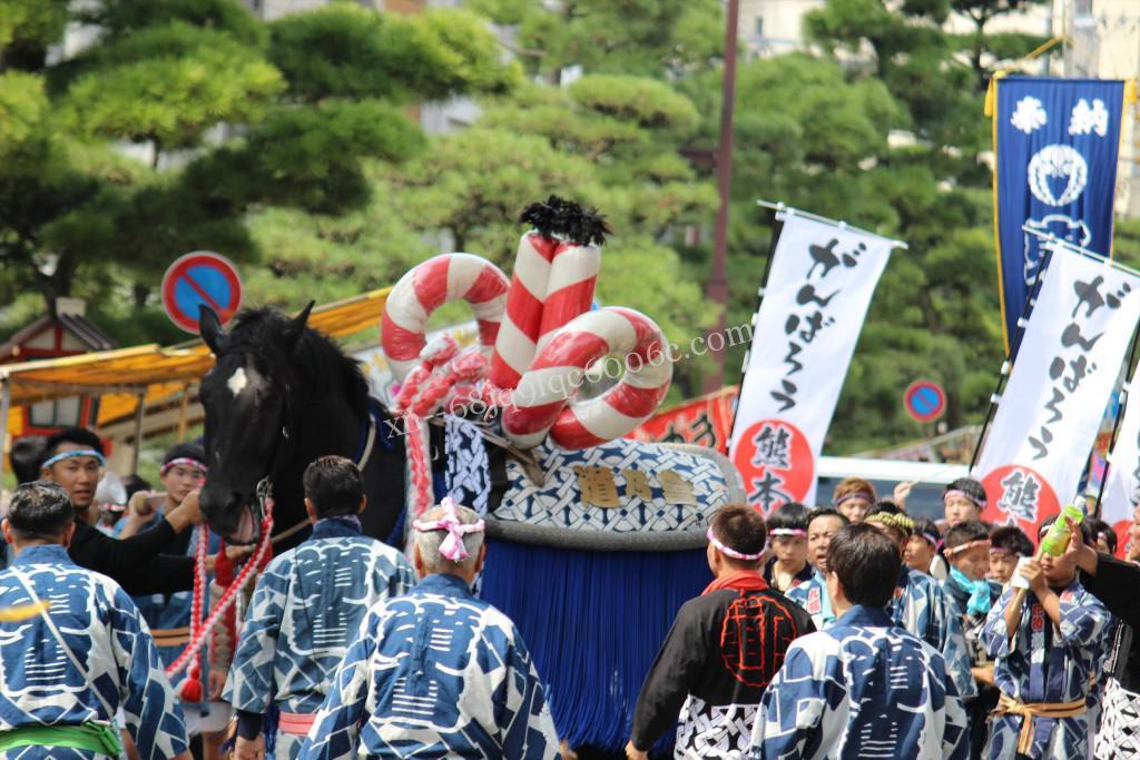 2016年ボシタ祭り肥後道乃會飾卸写真画像