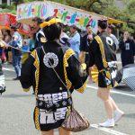 2016年ボシタ祭り済々黌飾馬奉納団絆飾卸写真画像