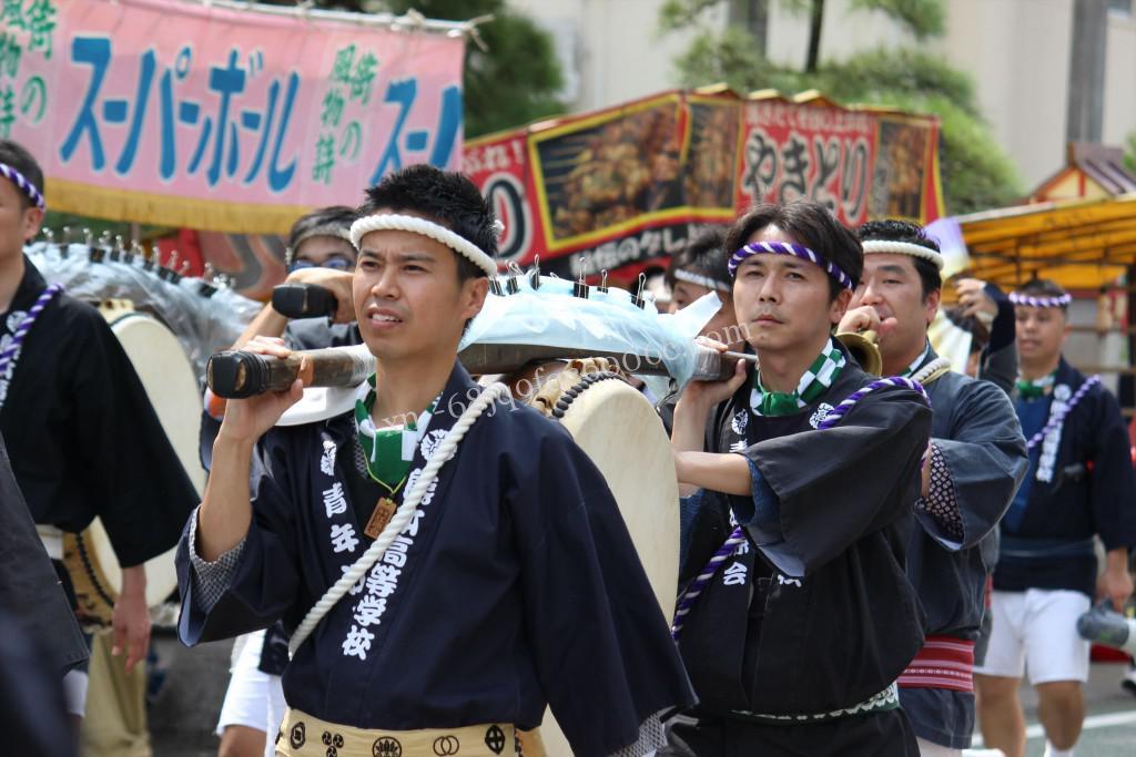 2016年ボシタ祭り青年江原会飾卸写真画像