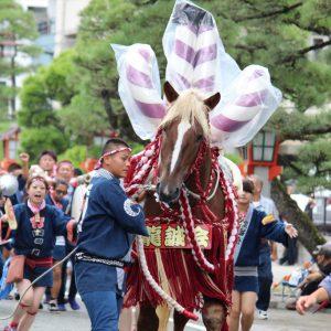 藤崎宮秋季例大祭ボシタ祭り2017飾卸し画像